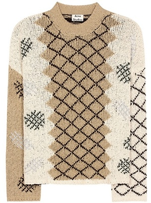Oneida knitted cotton sweater