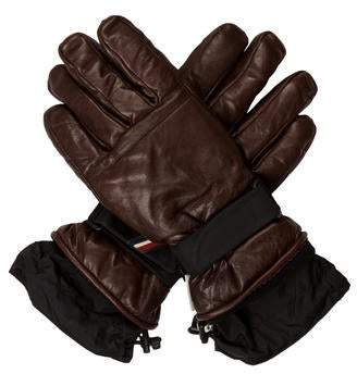 Moncler Lambskin Leather Gloves