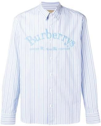 Burberry striped shirt