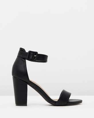 05e01983091 Black Block Heel Sandals For Women - ShopStyle Australia
