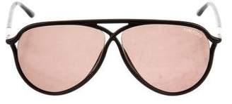 Tom Ford Gradient Aviator Sunglasses