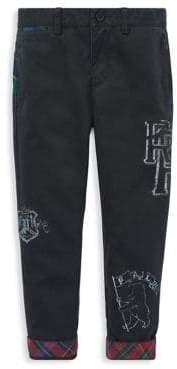 Ralph Lauren Childrenswear Little Boy's Slim-Fit Stretch Cotton Chino