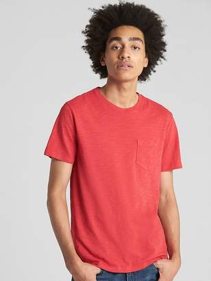 Gap Pocket T-Shirt in Slub Cotton