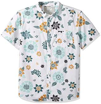 Quiksilver Men's Sunset Floral Short Sleeve