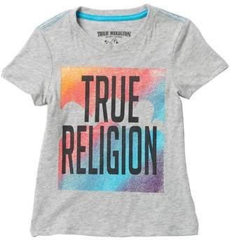 True Religion Rainbow Cloud Tee (Little Girls)