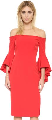 Milly Cady Selena Slit Dress $485 thestylecure.com