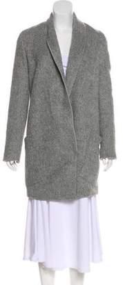 Akris Alpaca-Blend Short Coat w/ Tags