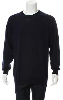 Salvatore Ferragamo Wool Crew Neck Sweater