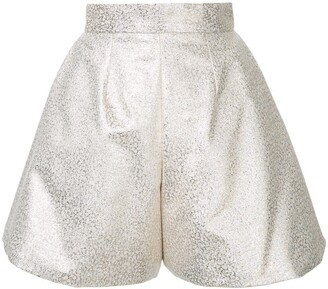 Bambah glitter pleated culottes