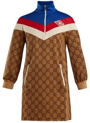 Gucci GG-print technical-jersey dress