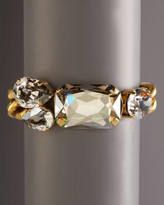 Janis By Janis Savitt Crystal Cluster Bracelet