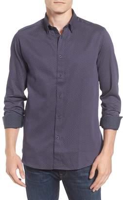 Ted Baker Modern Slim Fit Print Sport Shirt