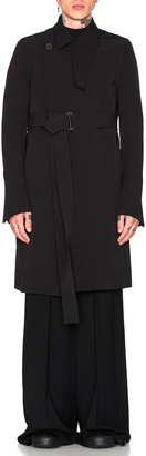 Rick Owens Trench Coat $2,318 thestylecure.com