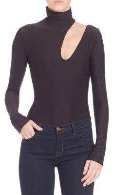 Alix Houston Cutout Bodysuit $225 thestylecure.com