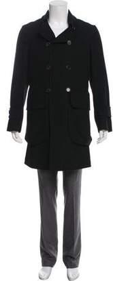 Bottega Veneta Wool-Blend Trench Coat