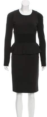 Altuzarra Peplum Bodycon Dress