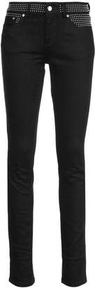 RED Valentino studded skinny jeans