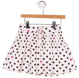 Lili Gaufrette Girls' Polka Dot Print Skirt