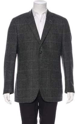 Gant Windowpane Wool Blazer