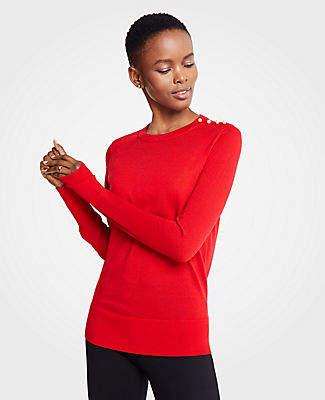 68dafd900143 Ann Taylor Rib Knit Women s Sweaters - ShopStyle