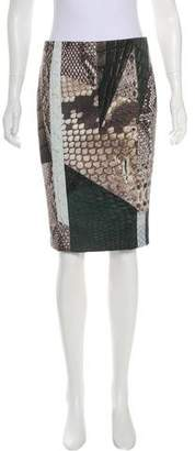 Yigal Azrouel Bodycon Pencil Skirt