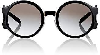 Prada Women's Oversized Round Sunglasses