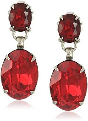 Sorrelli Ruby Celosia Drop Earrings