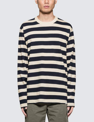 Norse Projects Johannes Rugby Stripe L/S T-Shirt