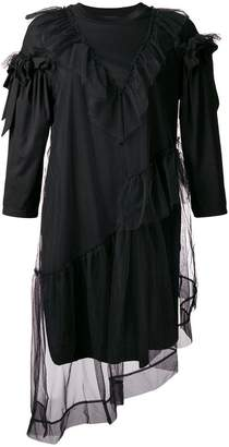 Simone Rocha tulle T-shirt dress