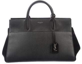 Saint Laurent Small Cabas Rive Gauche Satchel Black Small Cabas Rive Gauche Satchel