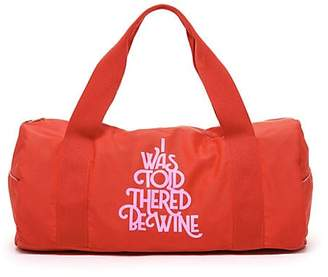 ban.do I Was Told There'd Be Wine Gym Bag