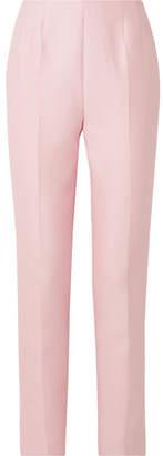 Gabriela Hearst Masto Wool And Silk-blend Slim-leg Pants - Baby pink