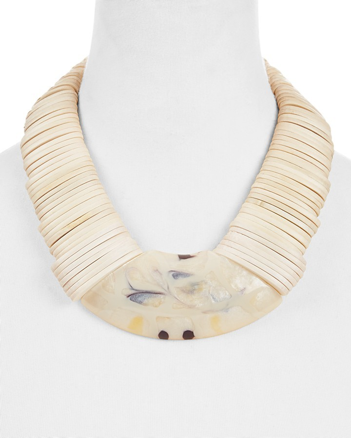 Max Mara Weekend Max Mara Gamma Statement Necklace, 20""