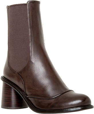 Max Studio impel : leather ankle boots