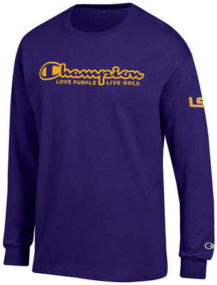 Champion Men Lsu Tigers Co-Branded Long Sleeve T-Shirt