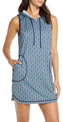 Tommy Bahama Island Active Hooded Cover-Up Minidress