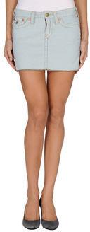 True Religion Mini skirts