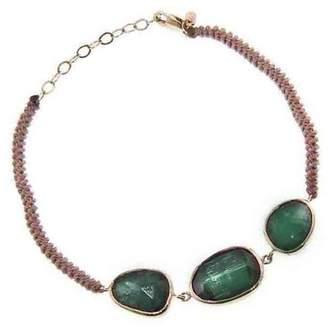 Celine Daoust Triple Tourmaline Rope Bracelet