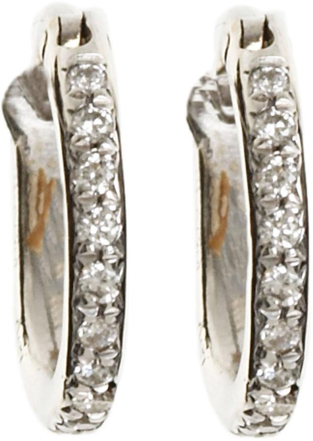 Ileana Makri Mini Hoop Earrings