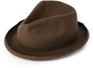 Horisaki Design & Handel moulded fedora hat