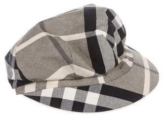 Burberry Nova Check Woven Hat