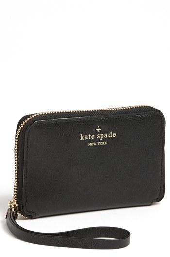 Kate SpadeWomen's Kate Spade New York 'Mikas Pond - Louie' Wristlet - Black