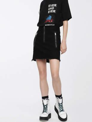 Diesel Skirts 0DAUC - Black - 28