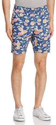 Oxford Lads Retro Floral Slim Fit Shorts $85 thestylecure.com