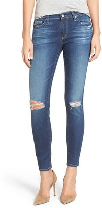 AG 'The Legging' Ankle Jeans $245 thestylecure.com