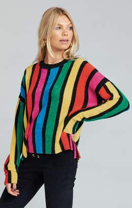 Show Me Your Mumu Jesse Sweater ~ Rainbow Parade Knit
