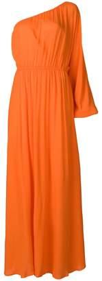 Mara Hoffman one-shoulder beach dress