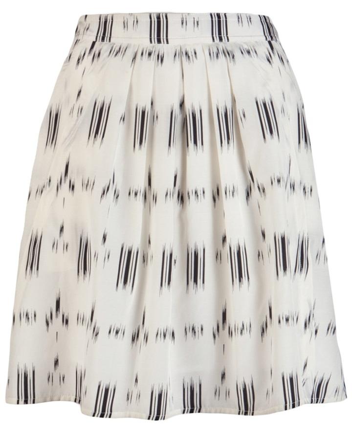 Derek Lam 10 Crosby By Ikat flounce skirt