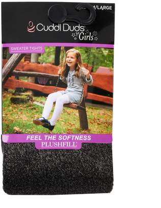 Cuddl Duds Girls 4-16 Plushfill Sparkle Sweater Tights