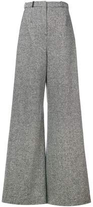 Lanvin flared tailored trousers